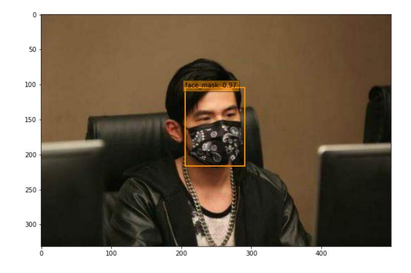SSD实现口罩识别